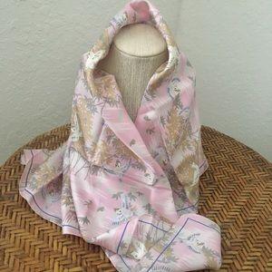 NWT GAP Oriental Silk Scarf
